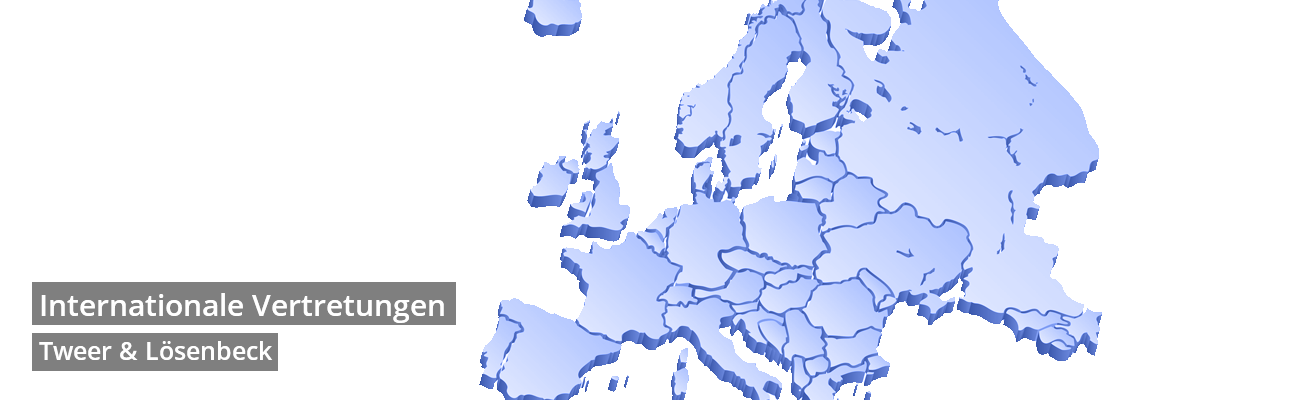 Tweer Lösenbeck Europakarte